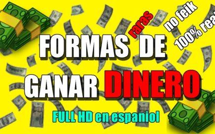 FORMAS DE GANAR DINERO FACIL Y RAPIDO