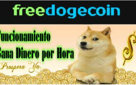 FreeDogecoin, Como Funciona, Explicación Completa | Como Ganar Dogecoins por hora, Estrategias Doge
