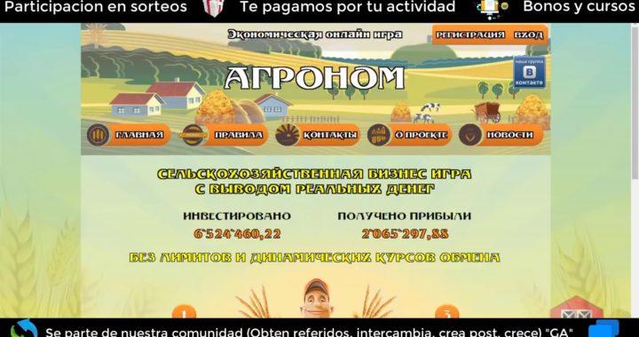 fruitmoney Tutorial  en español gana rublos para payeer
