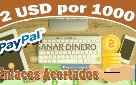 GANA 2 USD COMPARTIENDO ENLACES   - PAYPAL