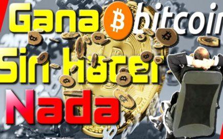 Gana Bitcoin 100% Pasivo SIN Hacer Nada Minería En La Nube 2018 [ Quiero Dinero ]