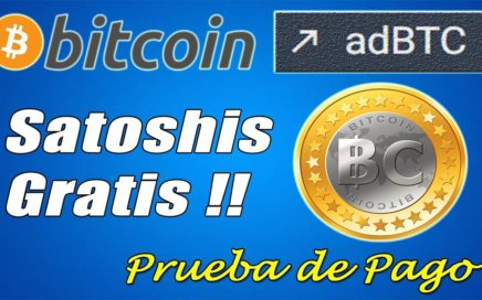Gana Bitcoin Gratis con AdBTC | Prueba de Pago por Uphold | Gokustian