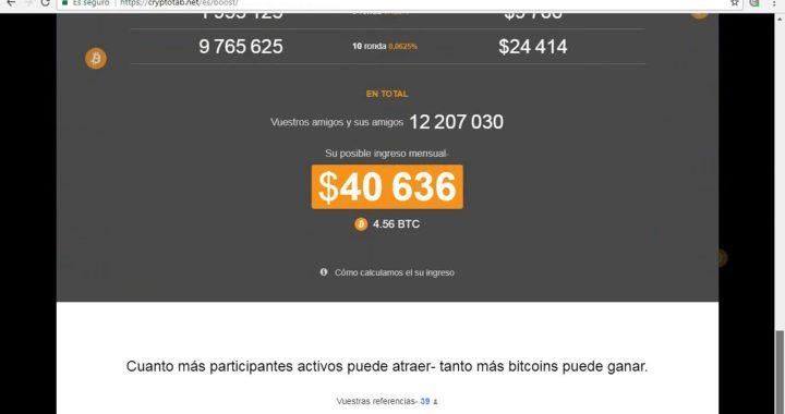 Gana Dinero con la CRYPTO TAB de Google Chrome
