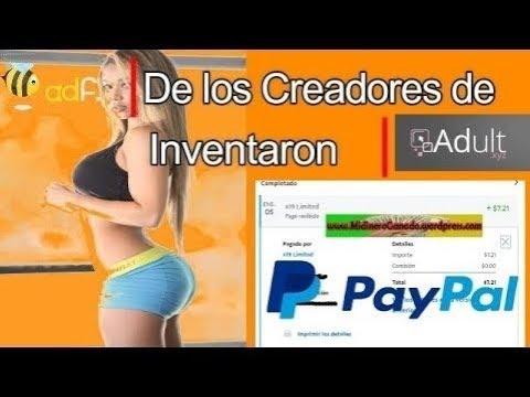 GANA DINERO CON PAGINAS PARA ADULTOS (+18) | 4to PAGO $5 POR PAYPAL