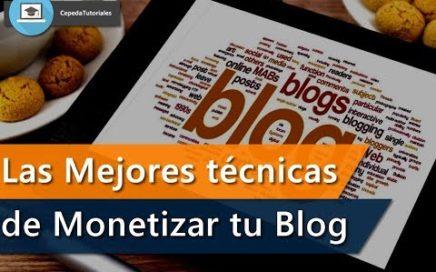 Gana Dinero con tu  Blog