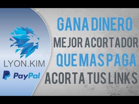 GANA DINERO - EL MEJOR ACORTADOR DE LINKS 2018 |Registro/Como Utilizarlo/Comprobante de Pago|