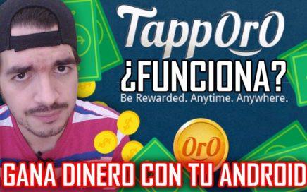 GANA DINERO FÁCIL EN ANDROID CON TAPPORO | Increíble aplicación gratis paga vía Paypal o Bitcoins.