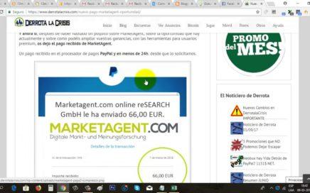 Gana Dinero Gratis a Paypal con Encuestas Online | Marketagent Paga 66€ Paypal | Gokustian