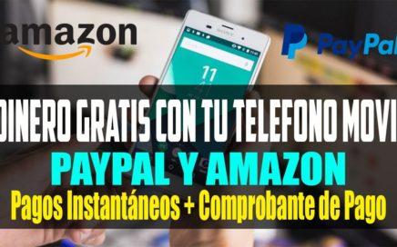 Gana Dinero Gratis con tu teléfono Móvil | Pagos Instantáneos a Paypal + Prueba de Pago APP