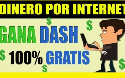 GANA DINERO POR INTERNET - Dash GRATIS ¿ Paga o es Scam? GetfreeDash