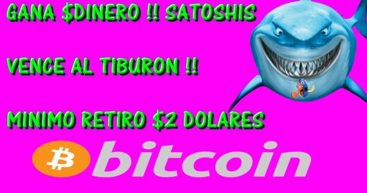 GANA $DINERO POR INTERNET !! MINIMO $2 DOLARES EN SATOSHIS !! [2018]
