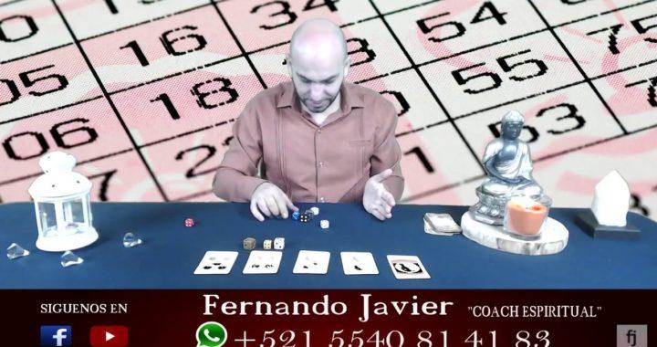 GANA DINERO RÁPIDO EN LA LOTERIA  NÚMEROS DE LA SUERTE FERNANDO JAVIER COACH ESPIRITUAL 