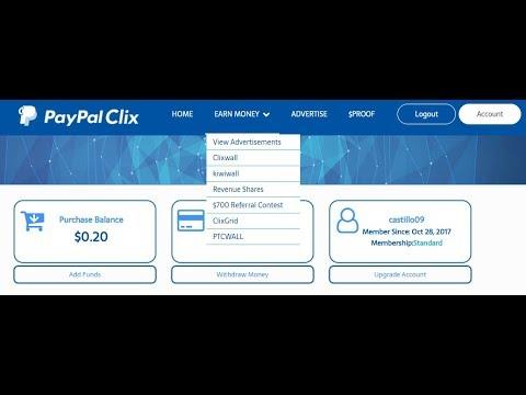 Gana dinero real paypal (navegando por internet y muliando)
