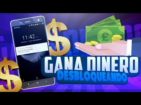 GANAR DINERO DESBLOQUEANDO TU CELULAR / Mejor app para ganar dinero / Ganar Dinero Facil Para PAYPAL