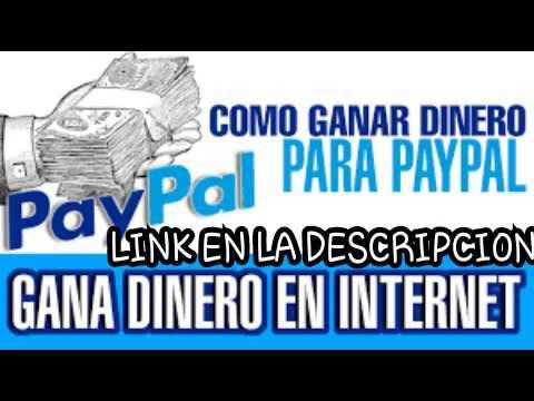 GANAR DINERO GRATIS PARA PAYPAL | EN DOLARES | 10 DOLARES DE REGALO