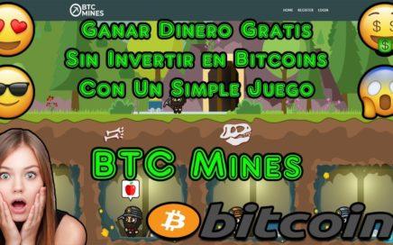 Ganar Dinero Gratis Sin Invertir en Bitcoins con un Simple Juego   BTC Mines Explicacion Completa