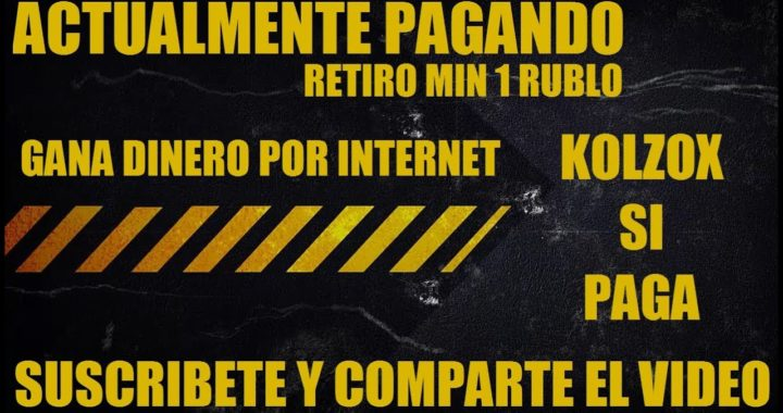 GANAR RUBLOS GRATIS | AVANCE DE KOLZOX LA GRANJA | Y OTRAS PÁGINAS