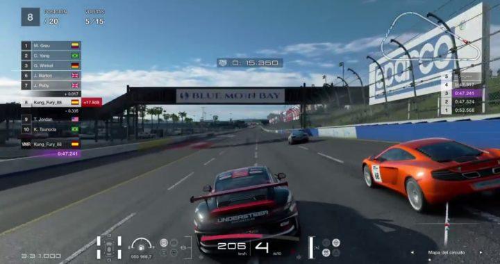 Gran Turismo SPORT - CARRERA PARA GANAR DINERO RAPIDO