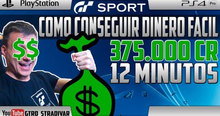 GT SPORT | COMO GANAR DINERO FACIL - 375.000 Cr EN 12 MINUTOS | GTro_stradivar
