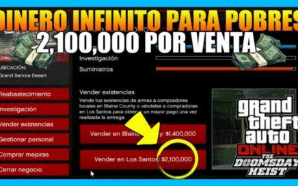 *INCREÍBLE* GANA $2,100,000 DIARIAMENTE EN GTA 5 ONLINE CON EL NEGOCIO DEL BUNKER (LEGAL)