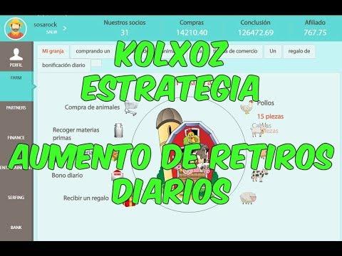 KOLXOZ ESTRATEGIA | AUMENTO DE RETIROS DIARIOS (BIEN EXPLICADO) | STRATEGY