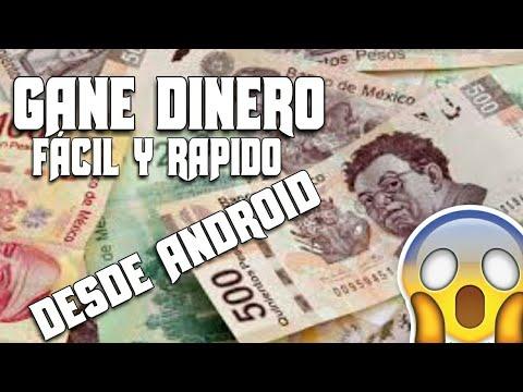 La mejor app para ganar dinero desde Android 2018 fácil y rapido