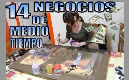LOS MEJORES PEQUEÑOS NEGOCIOS DE MEDIO TIEMPO