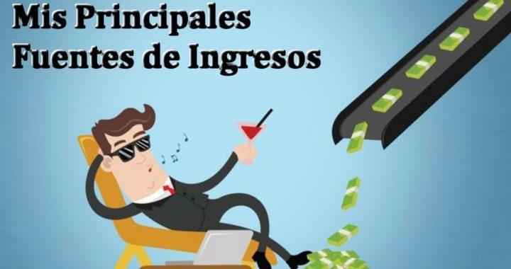 Mis Principales Fuentes de Ingresos y Estretegia para Ganar Dinero por Internet | Derrota la Crisis