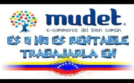 MUDET  |  ¿ES RENTABLE O NO TRABAJARLA EN VENEZUELA?  |  RETIRANDO LOS 15 EUROS