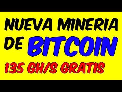 NUEVA PAGINA MINADORA DE BITCOIN 135GH Potencia De Mineria para Ganar Dinero