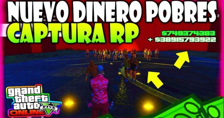"""!nuevo! DINERO """"CAPTURA"""" PARA *POBRES* Y RP APROVECHA FACIL RECIENTE GTA 5 ONLINE"""
