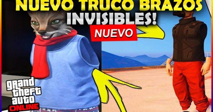 NUEVO TRUCO! TENER BRAZOS INVISIBLES ! GTA V ONLINE 1.42 (PC , PS4 , XBX1)