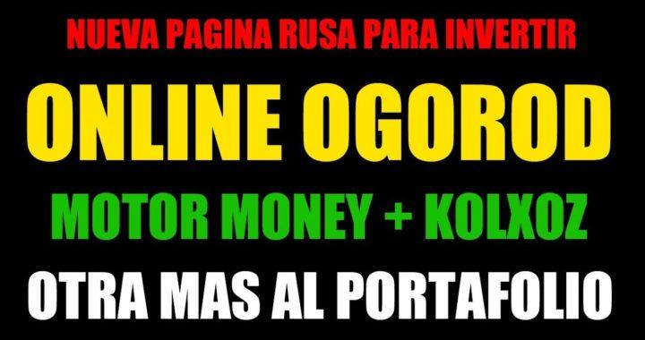 Online Ogorod español - Nueva Pagina Rusa en mi Portafolio