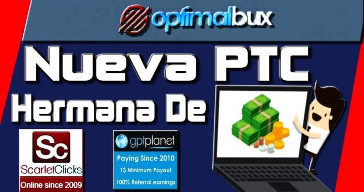 OptimalBux Que es y Como Funciona [ Como Ganar Dinero Por Internet Quiero Dinero ]