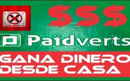 PAIDVERTS GANAR DINERO DESDE CASA 2018