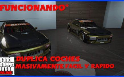 *PARCHEADO*-TRUCO PARA DUPLICAR COCHES MASIVAMENTE Y CONSEGUIR DINERO-FACIL Y RAPIDO-GTA V ONLINE