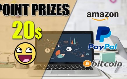 Point Prizes - Gana 20$ por Paypal, Amazon o Bitcoin.
