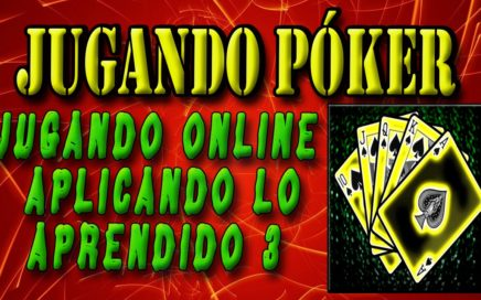 POKER ONLINE -C |  jugamos tipo cash para ganar dinero $$$ - (Parte III)