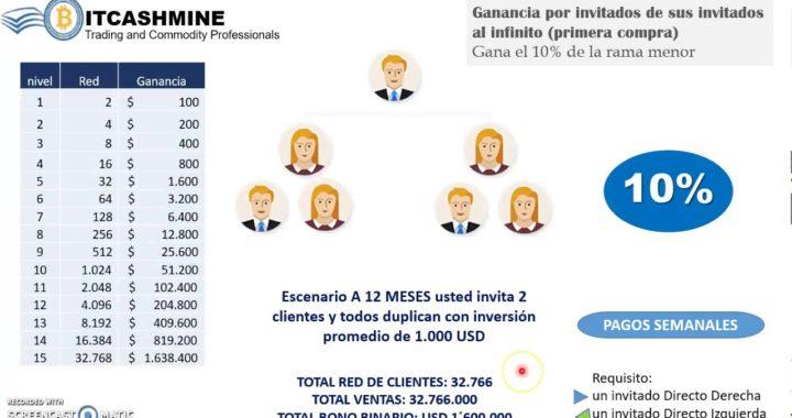 Presentación Express Plan de Compensación BIT CASH MINE