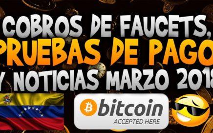 Pruebas de pago, Cobros y nuevas noticias de Paginas para ganar Bitcoin - Marzo 2018