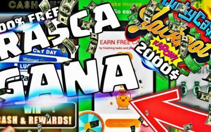 RASCA Y GANA TARJETAS GOOGLE PLAY, STEAM, PAYPAL (BOTE 2000$) 100% GRATIS