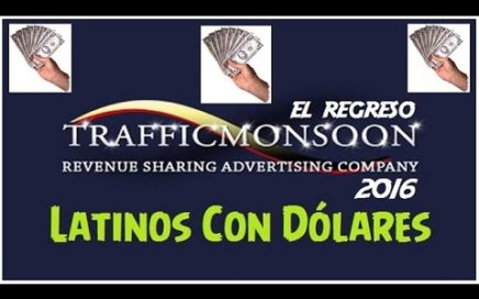 SCAM !!!! TrafficMonsoon | Gana Dinero GRATIS desde Casa con la mejor PTC Revshare