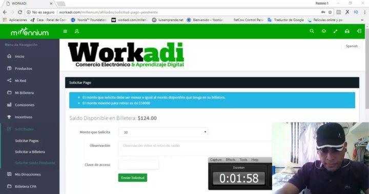 Segunda Prueba De Pago: $160 USD En Tan Solo 1 Día Con WORKADI (Gana Dinero Por Internet 2018)