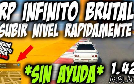 *SIN AYUDA* - RP INFINITO - TRUCO PARA CUENTAS NUEVAS - SUBIR NIVEL PERSONAJES - GTA 5 - (PS4 - XB1)