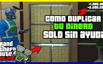 "SOLO!! COMO DUPLICAR TU DINERO ""GTA V ONLINE"" DINERO INFINITO 1.42"