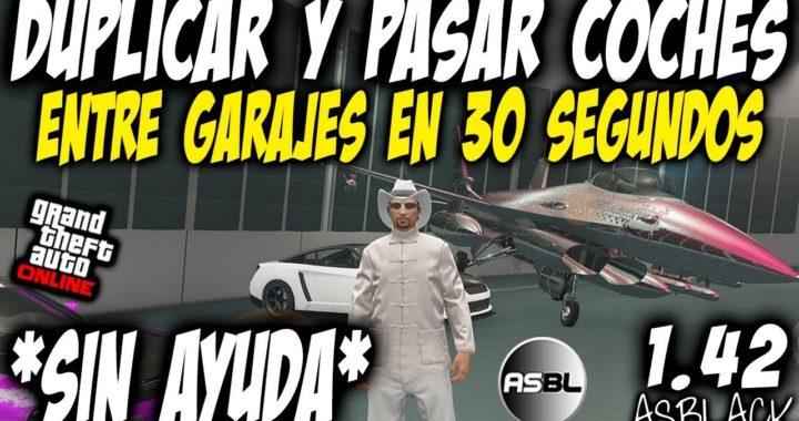 *SOLO* - SIN AYUDA - DUPLICAR COCHES - GTA 5 - PASAR COCHES ENTRE GARAJES 30 Segundos - (PS4 - XB1)
