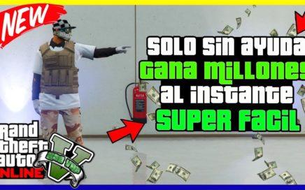 """SOLO SIN AYUDA!! OBTENER MILLONES RAPIDAMENTE """"GTA V ONLINE"""" DINERO INFINITO"""