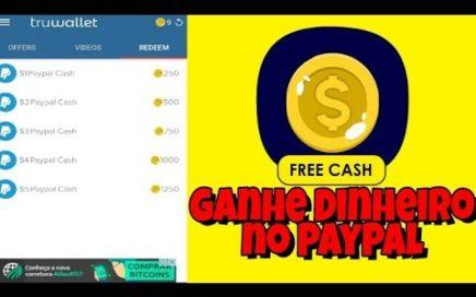 Super Aplicativo Para Ganhar Dinheiro no PayPal - TruWallet Ganhe Dinheiro