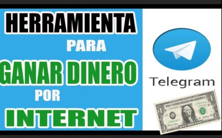 TELEGRAM Herramienta para GANAR DINERO por Internet - k1que MONEY
