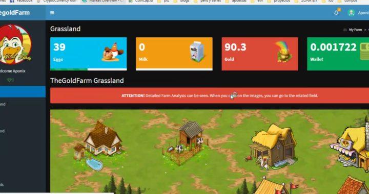 The Gold Farm tutorial gana dinero jugando a la granjita facil y dinamico